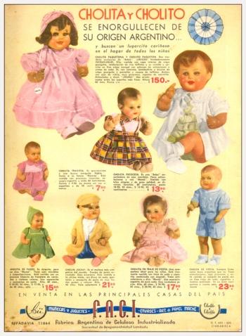 1940 Cholita y Cholito Revista Billiken (1)