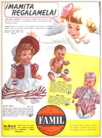 1940 Muñecos Famil Revista Billiken