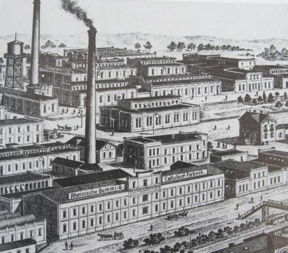 VISTA DE LA EMPRESA ANTES DE 1905.