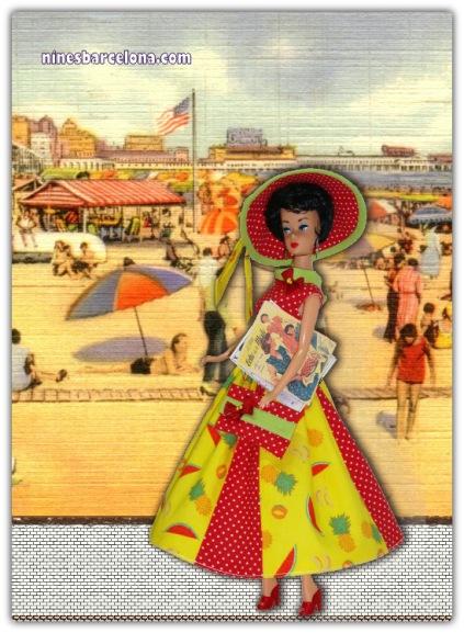 Barbie vintage morena