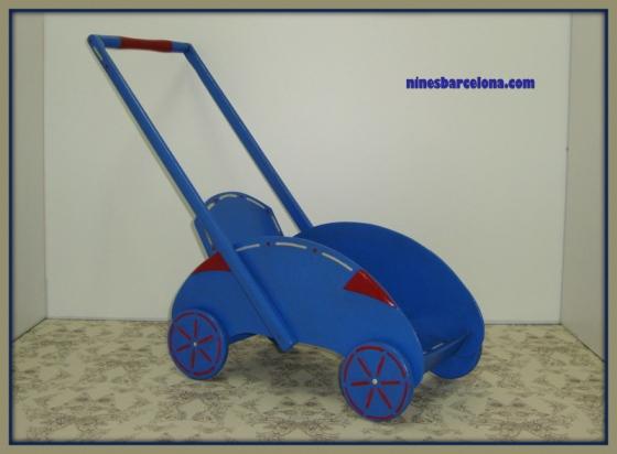 Cotxet blau
