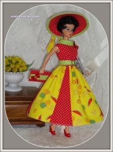 Barbie-Vintage. Morena.