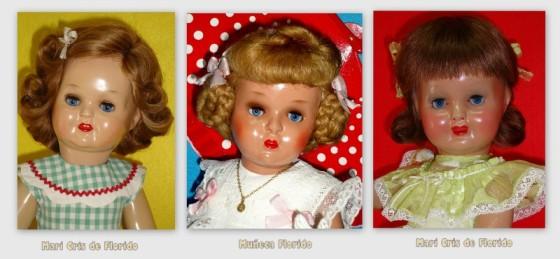 Muñecas Florido