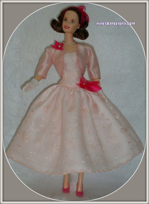 Barbie vestit rosa gassa